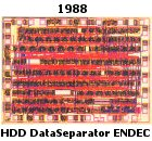 HDD Data Endec for RLL Coding; Bipolar, 2000 Components
