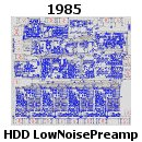 Low Noise HDD Preamplifier for Thin Film Heads; Bipolar 500 Components